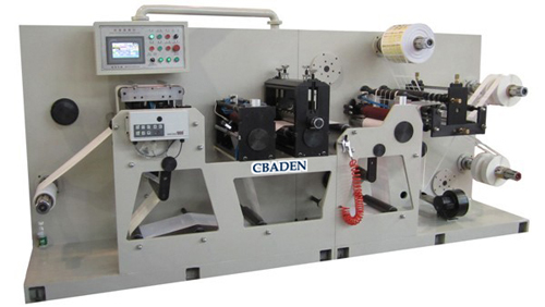 Auto-Rotary Die Cutting and Slitting Machine